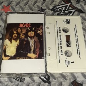 1979 AcDc Highway To Hell Vintage 70s Rock Ac/Dc